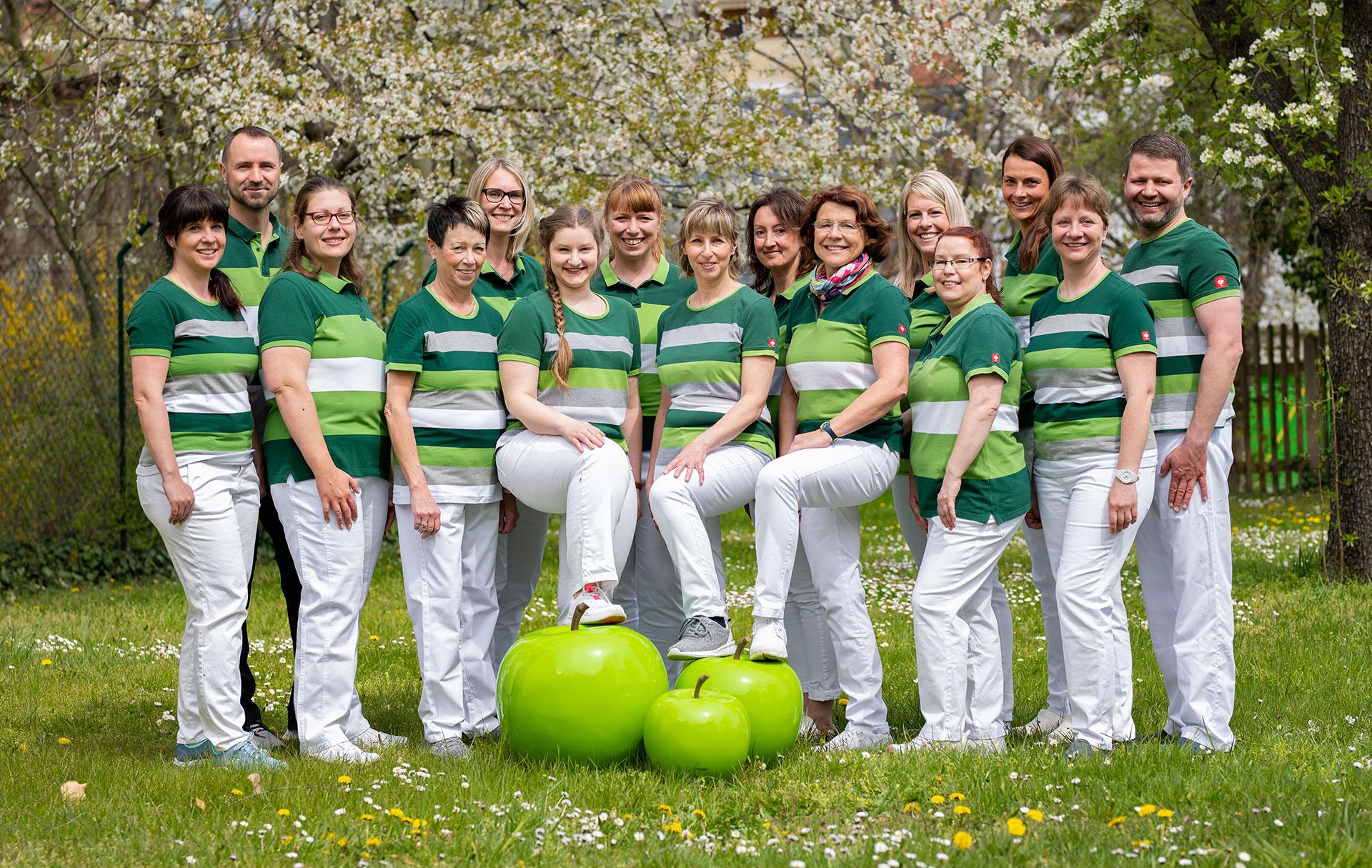 Team der zahnärztlichen Gemeinschaftspraxis Dr. Röver